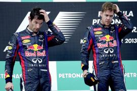Vettel se disculpó ante todo el personal de Red Bull por adelantar a Webber