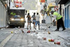 El servicio de limpieza de Sant Antoni irá a la huelga si FCC aplica una reducción salarial