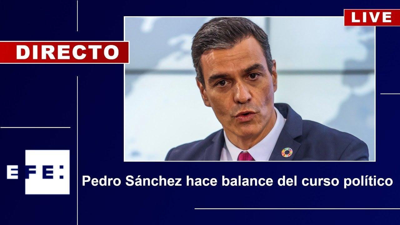 Así ha sido la comparecencia de Sánchez sobre el balance del curso político