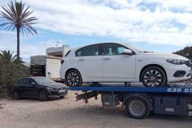 Formentera sanciona más de 150 vehículos de alquiler en julio