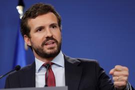 Casado dice que Sánchez cumple con los separatistas y miente a todos los españoles