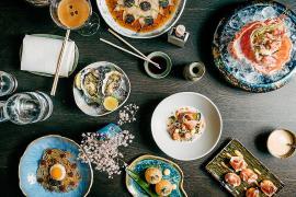 Un viaje culinario de inspiración asiática e internacional