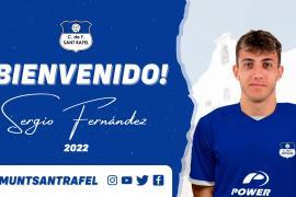 Sergio Fernández, nuevo jugador del San Rafael