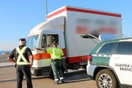 La Guardia Civil intensifica los controles de transportes en Balears