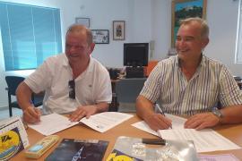 Endesa y el Náutico Santa Eulària firman un convenio para mejorar el suministro y el servicio