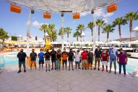 Cita del deporte de Sant Antoni en O Beach Ibiza