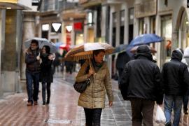 Alerta amarilla en Balears por lluvias