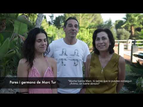 Santa Eulària manda un mensaje de ánimo a Marc Tur: «Estamos contigo»