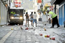 Los trabajadores de limpieza de Sant Antoni arrancan sus movilizaciones este mes