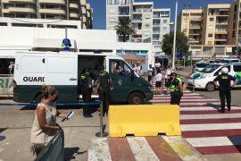 Interceptados once inmigrantes llegados en patera a Formentera
