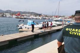 El chárter náutico ilegal en Sant Antoni recibe 11 propuestas de sanción