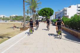 Los policías de Playas de Sant Antoni interponen 145 denuncias desde julio