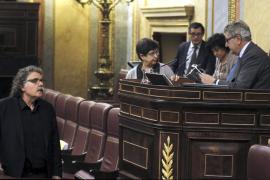 Posada expulsa de la tribuna a un diputado de ERC por hablar en catalán