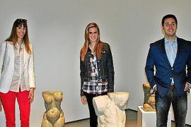 Llorenç Ginard presenta sus esculturas en el Museu Es Baluard