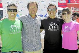 Los campeones del Torneo de Pádel Grup Serra, coronados por Top 4