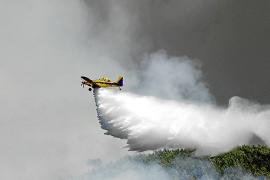 Eivissa contará esta temporada con dos medios aéreos contraincendios