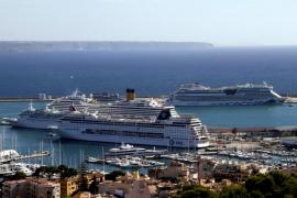 Baleares aumentó en un 400 % el número de cruceristas en el primer trimestre