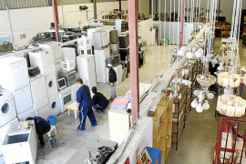 La Fundació Deixalles recoge en cuatro meses cerca de 55.000  kilos de residuos