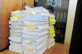 Los 59 tomos del expediente GPS ya están en el Juzgado de lo Penal nº2
