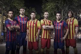 Los jugadores del Barça lucirán la senyera en la segunda equipación