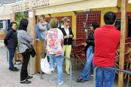 Estado de ruina para locales emblemáticos de Sant Antoni