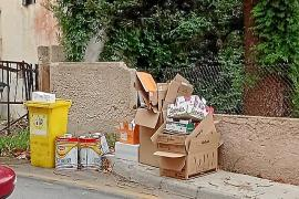 Huelga de recogida de basuras en Capdepera