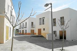 Imagen de las edificaciones que tuvo que demoler el Consell de Formentera