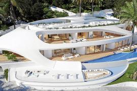 Santa Eulària tramita el proyecto de una villa de 1.300 m2 en Cap Martinet