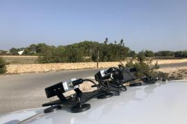 Formentera usará un nuevo sistema de cámaras para controlar que los vehículos en circulación están acreditados