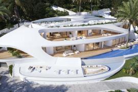 Santa Eulària recuerda que la villa de Cap Martinet está en exposición pública y se ajusta a la legalidad