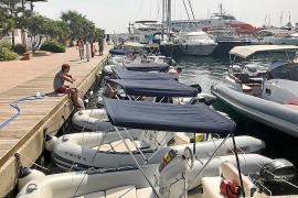 El chárter náutico legal de Formentera, obligado a reducir su flota o a salir de los puertos deportivos