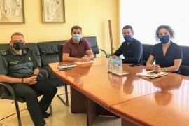 Sant Antoni mejorará su coordinación con Guardia Civil