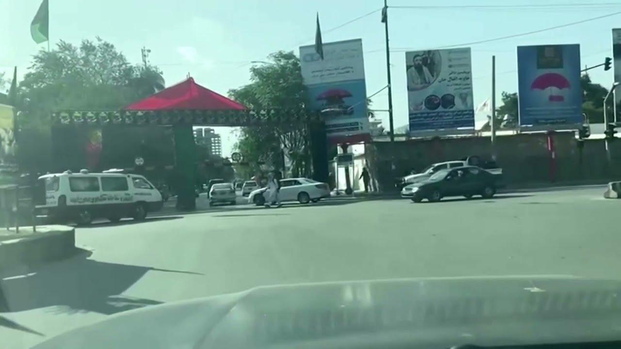 Evacuación masiva en las embajadas de Kabul ante el triunfo talibán