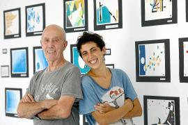 Ignasi y Jimena padre e hija unidos por la pintura