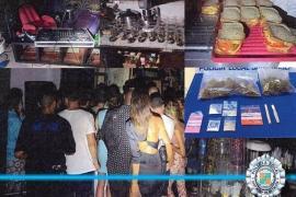 La Policía aborta una fiesta con 40 personas y dj en una tienda de ropa