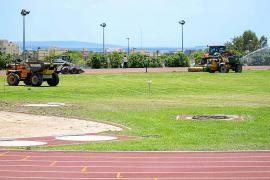 Vila dice que las obras de Can Cantó y la pista de atletismo «van a buen ritmo»