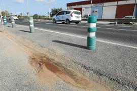 Muere atropellado cuando cruzaba la carretera del aeropuerto de Ibiza