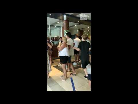 Caos en un barco con destino a Ibiza: los pasajeros denuncian retrasos y aglomeraciones