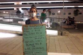 Activistas por el cambio climático alertan del impacto del «turismo de ricos» en Ibiza