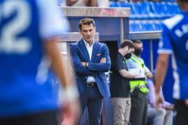 Luis García Plaza: «Merecíamos ganar con diez y con once»