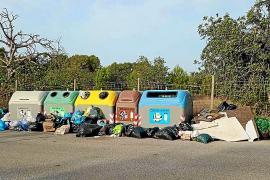 Sant Josep pone en marcha una campaña excepcional de recogida de residuos