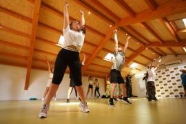 Las mejores imágenes de la Masterclass de calentamiento de Ibiza Danza Platform en Can Jeroni.