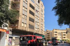 Una mujer discapacitada de 65 años fallece al incendiarse su piso en Palma