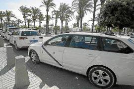Sant Antoni exime a los propietarios de licencia de taxis de la obligación de conducirlos