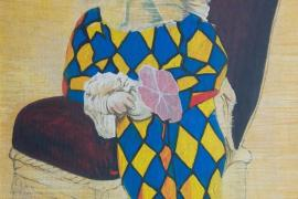Pepe Roselló muestra su colección de cuadros de Elmyr de Hory en una exposición en Sant Antoni