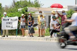 La carretera sobre el túnel entre Can Cifre y Cas Mut contará con semáforos y carril bici