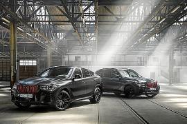 Los nuevos BMW X5 y BMW X6 Black Vermilion están limitados a 500 unidades de cada modelo.
