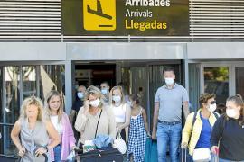 La llegada de turistas en julio a las Pitiusas fue un 21 % inferior a la de 2019