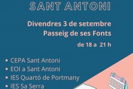 Sant Antoni organiza una muestra de la oferta formativa del municipio