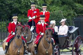 'Trooping the colour' por el cumpleaños de la reina Isabel II
